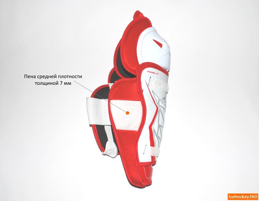Защита икроножной мышцы с внутренней стороны.