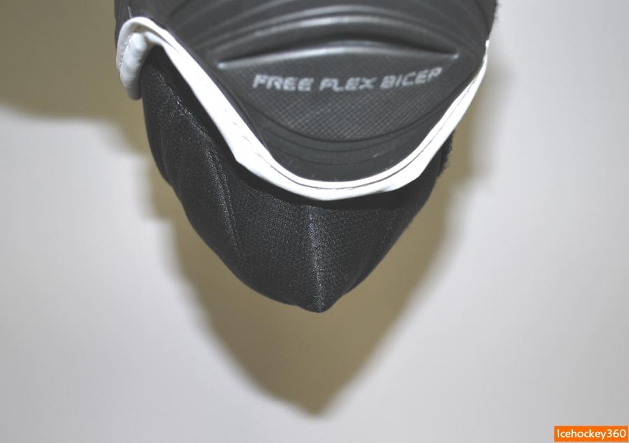 Геометрия пластиковой защиты локтевого сустава.