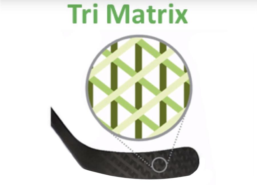 Плетение Tri-Matrix.