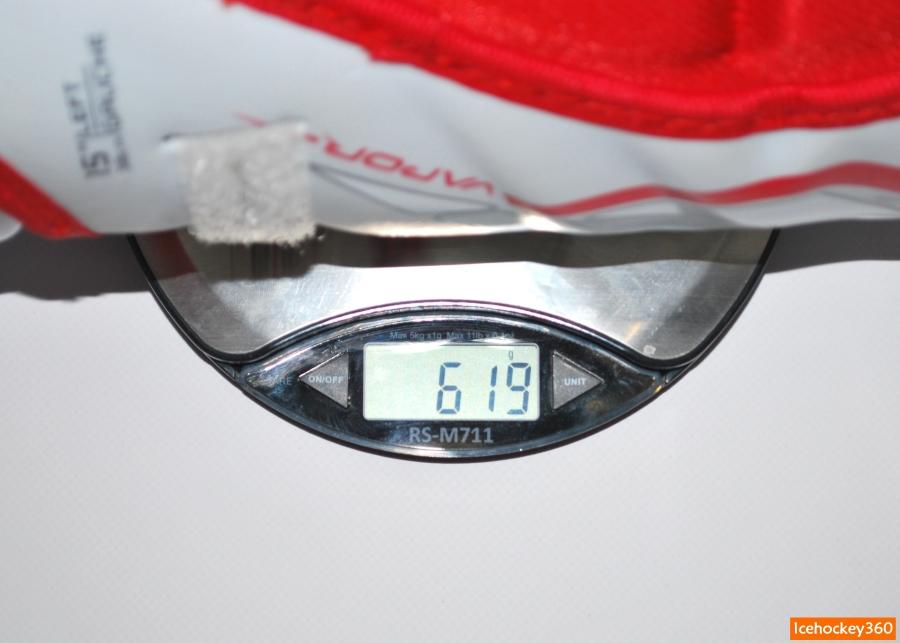 Вес щитков Bauer Vapor APX2 в размере 15″.