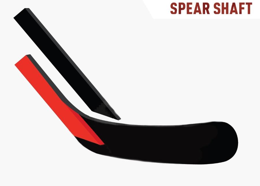 Конструкция соединения рукоятки с пером Spear Shaft.