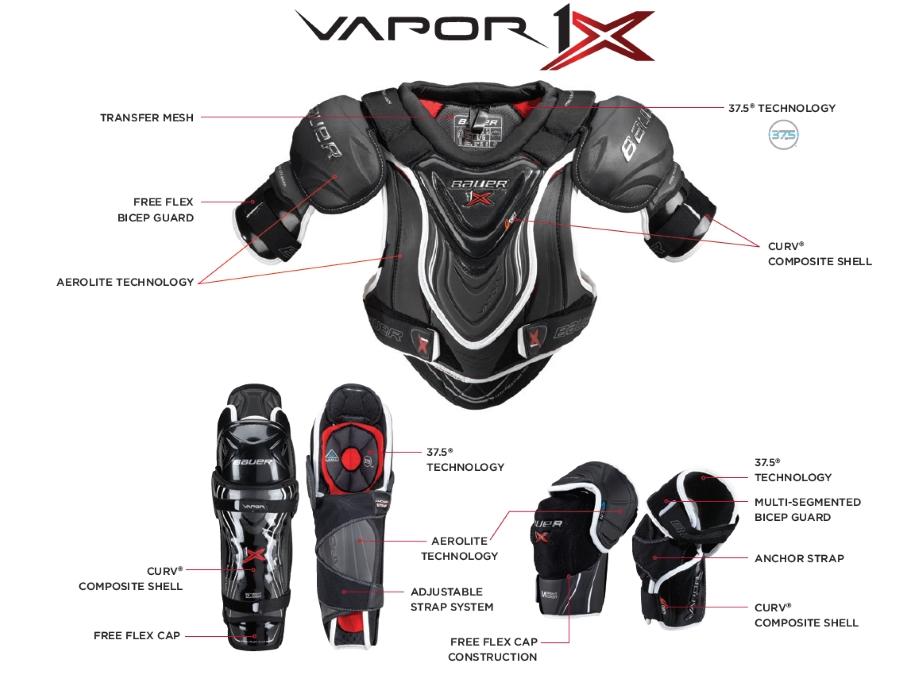 Защитный комплект Bauer Vapor 1X.