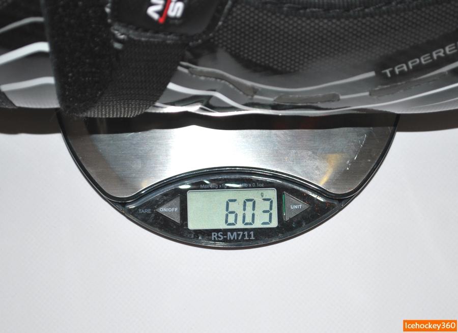 """Вес щитков Bauer Vapor 1X в размере 15""""."""