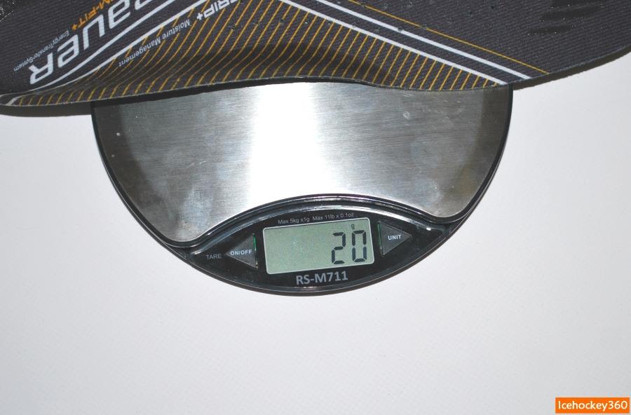 Вес стандартной стельки.
