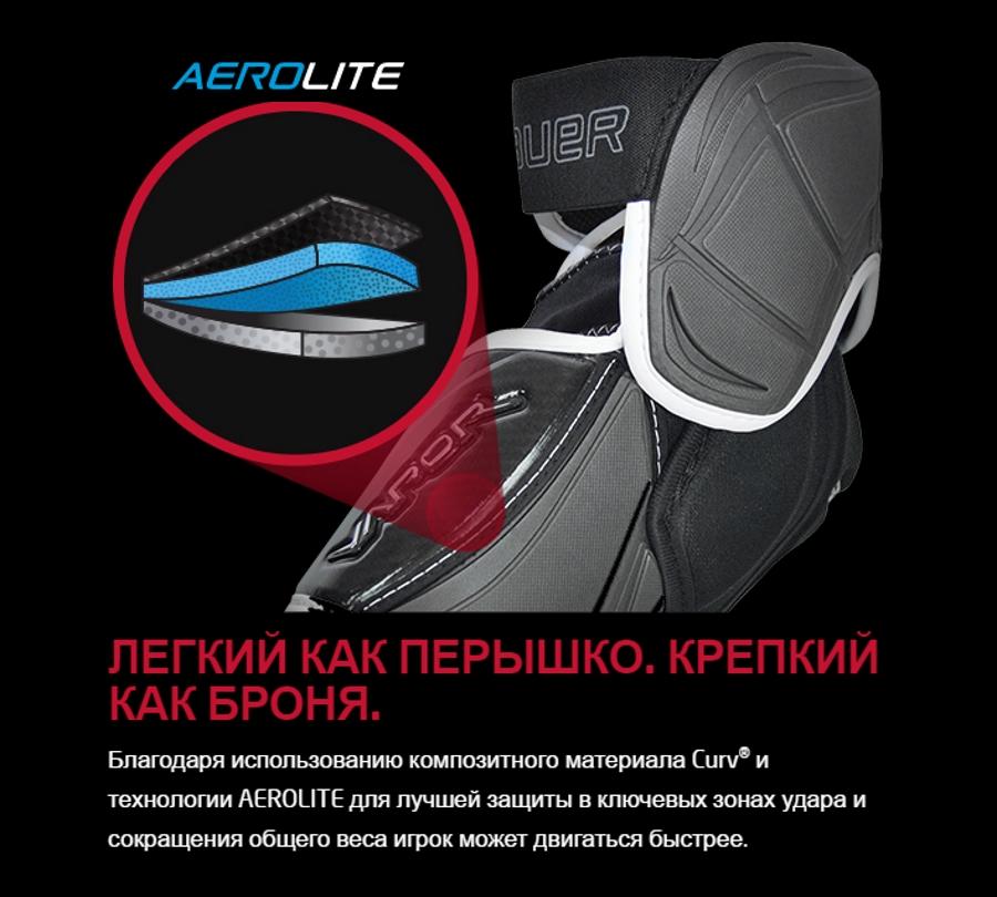 В конструкцию нагрудника 1Х входят фирменные материалы: композитный Curv и пена Aero Lite.