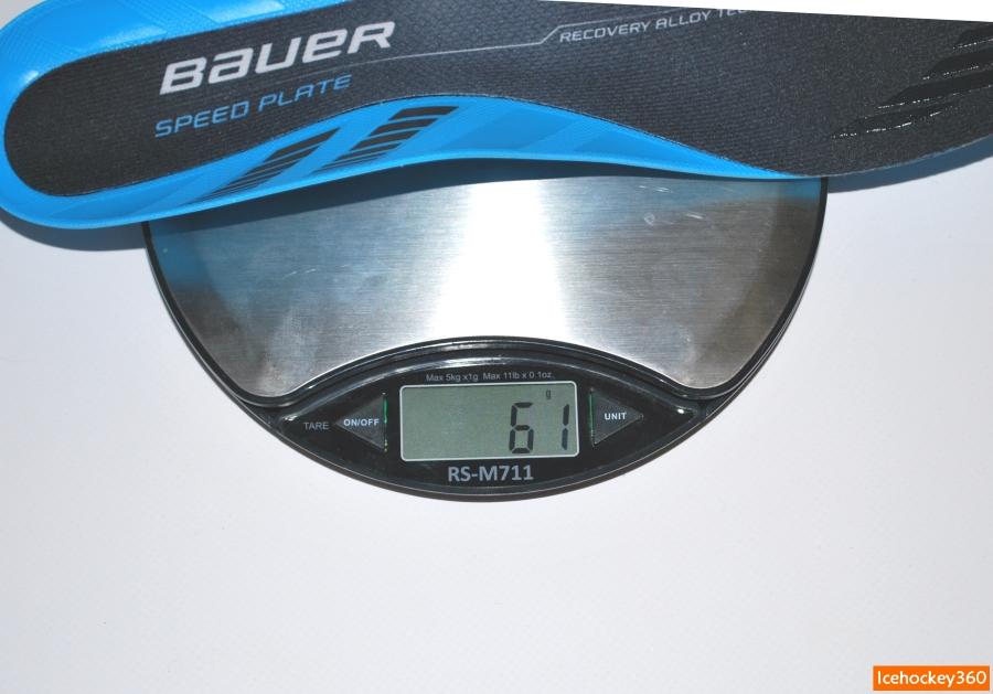 Вес стельки SpeedPlate (размер 10).