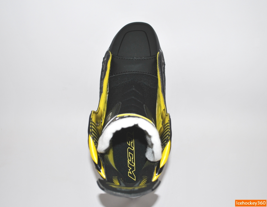 Очертания кромок ботинка до формовки.