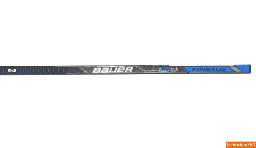 Клюшка Bauer Nexus 1N. Верхняя часть внешней стороны клюшки.