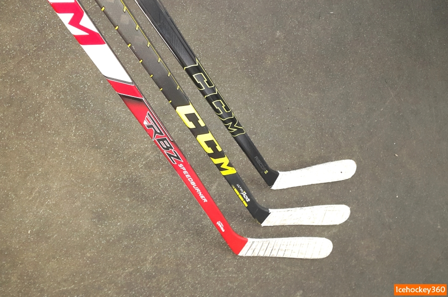 CCM RBZ SpeedBurner, Ultra Tacks и Ribcor reckoner.