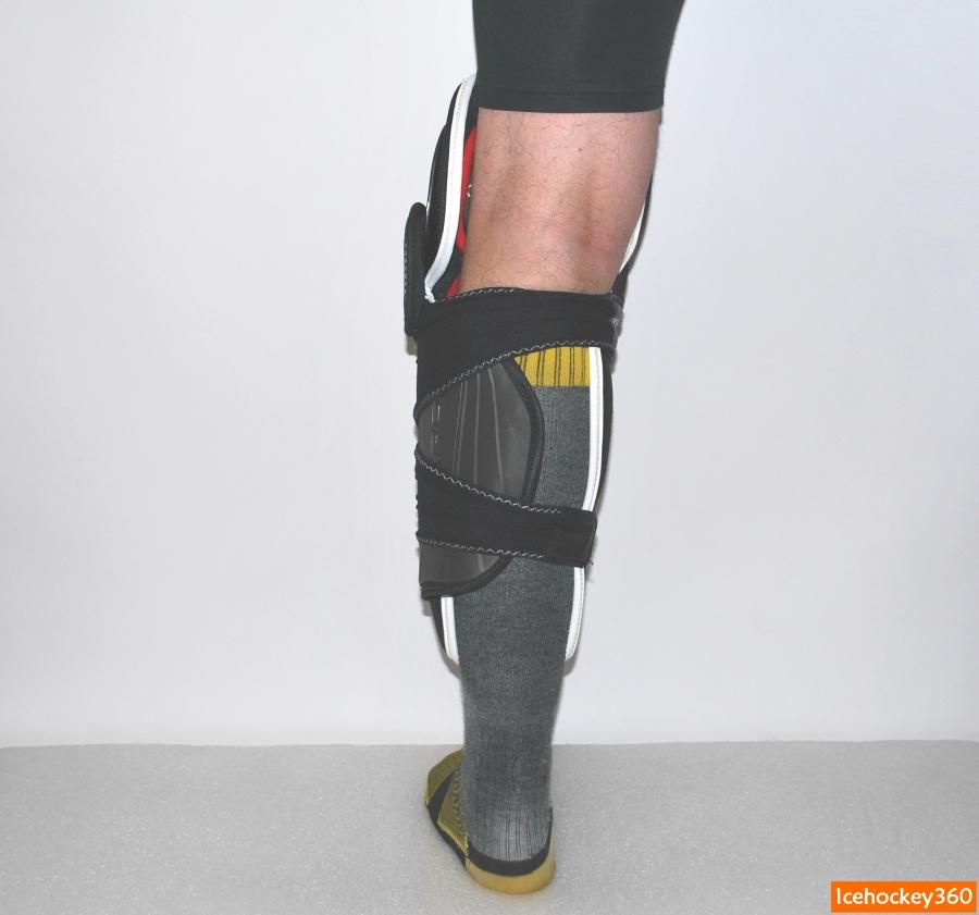 Посадка щитка 1Х на ноге. Объем икроножной мышцы 41 см.