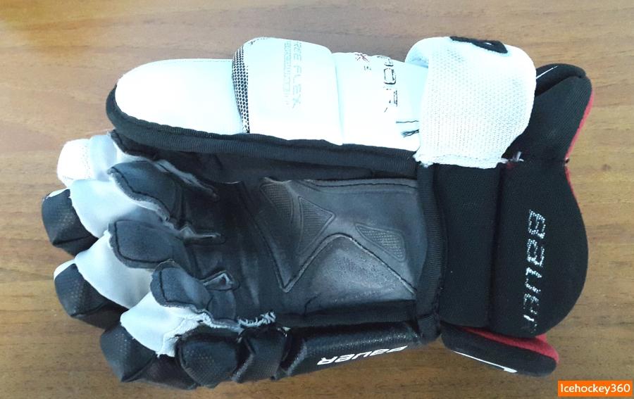 Краги Bauer Vapor APX2. Состояние ладошки нижней руки.