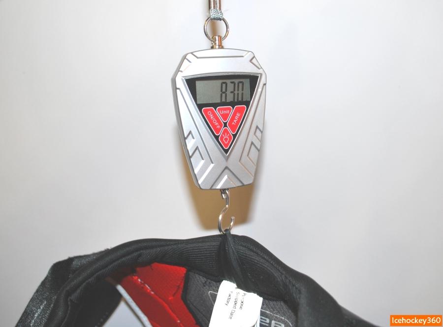 Вес нагрудника bauer Vapor 1X в размере L.