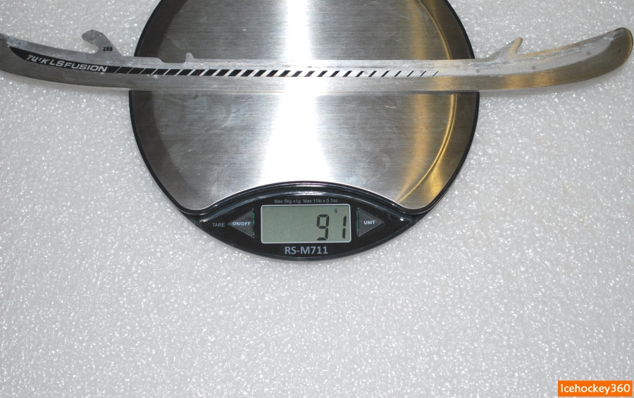 Вес лезвий LS Fusion в размере 288.