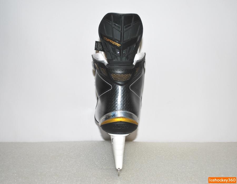 Задняя часть ботинка.